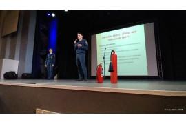 Встречи учащихся с представителями пожарного надзора г. Владивостока